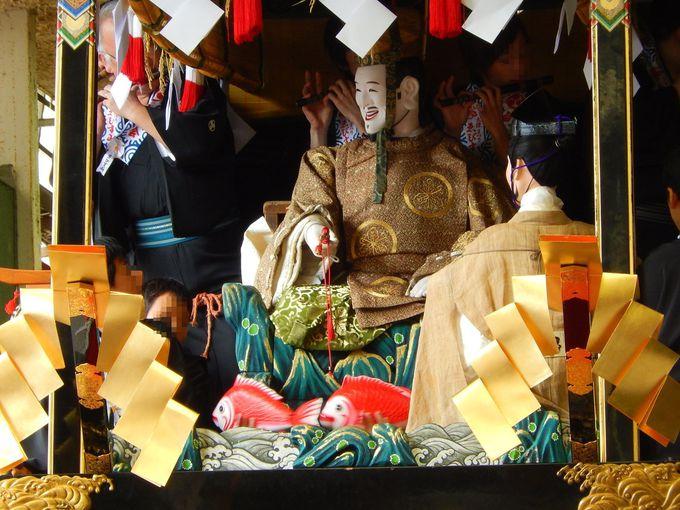 大津祭の『からくり人形』