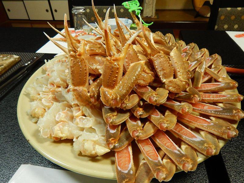 カニの王者・松葉ガニだけを目いっぱい食べに兵庫・香住温泉へ