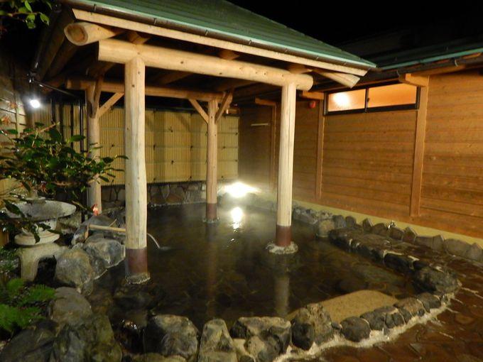 香住温泉最大の露天風呂