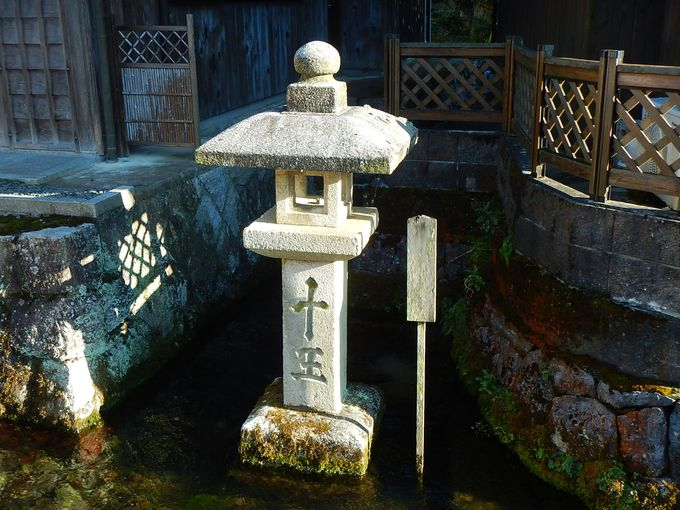 「三水四石」の醒井宿