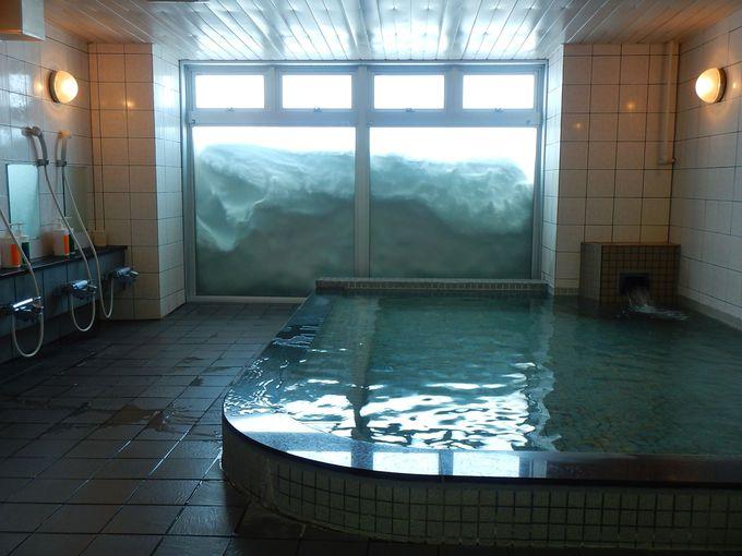 極寒地で入る温泉の有難さ