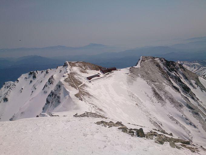 劔岳と立山連峰に感動の対面