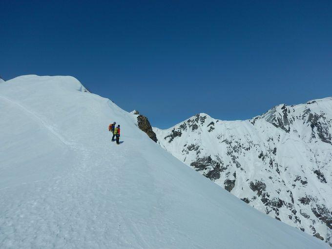 大迫力の不帰ノ嶮と五竜岳にドキドキ
