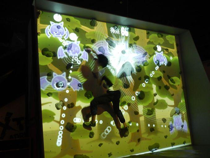 ゲーム感覚でボルダリング=デジタルボルダリング