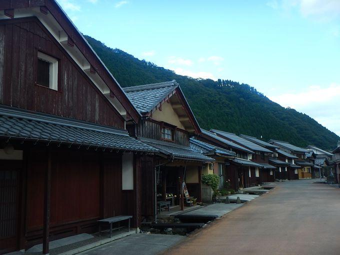 それぞれの個性が光る宿場町・熊川宿!