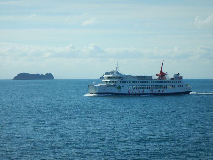 小豆島・吉田温泉への船旅