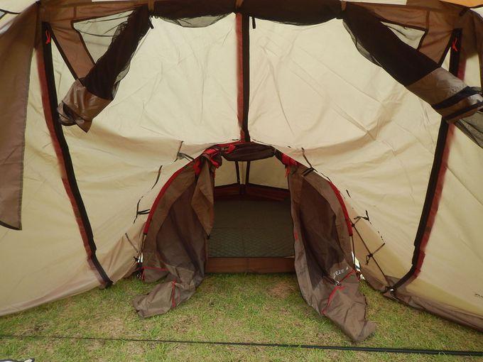 キャンプの必需品