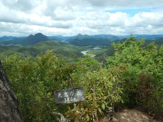 大岩ヶ岳山頂でランチタイム