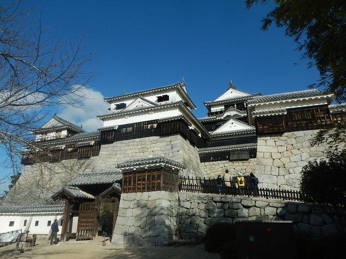 2日目午前:「松山城」をじっくり
