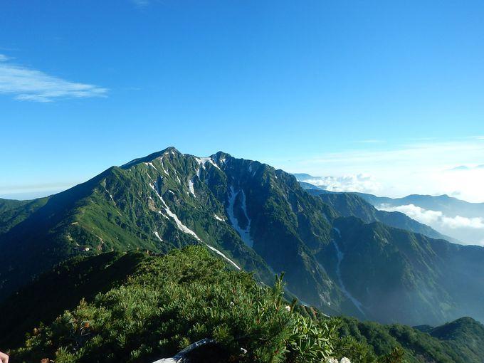 いよいよ爺ヶ岳から鹿島槍ヶ岳への縦走スタート