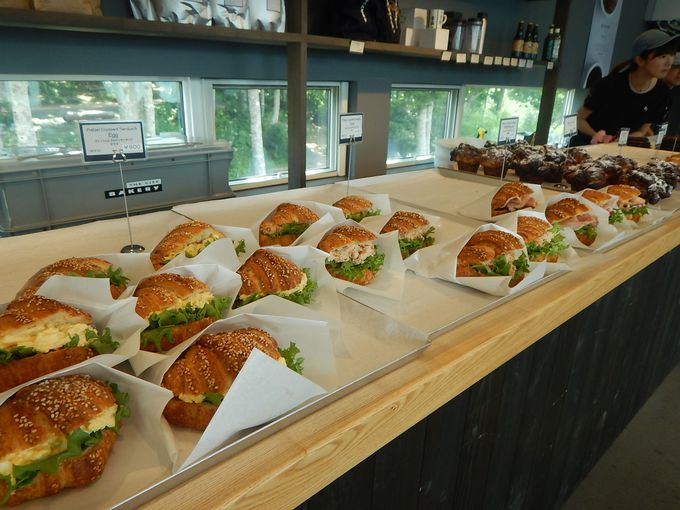 「HAKUBA MOUNTAIN HARBOR」で極上サンドイッチ