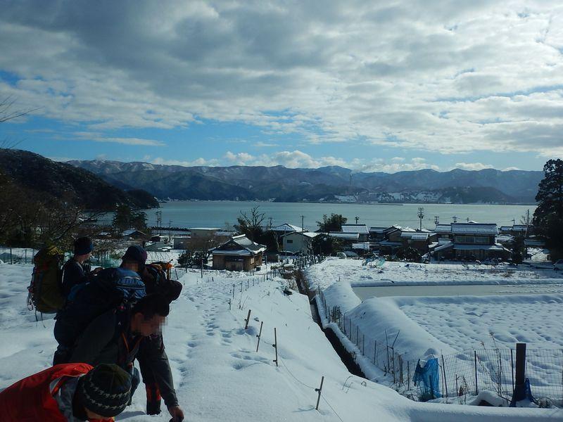 冬だから行ってみよう!雪の敦賀三山「西方ヶ岳」で絶景満喫