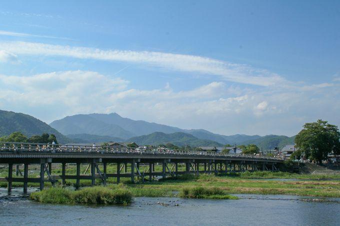 スタートは「JR保津峡駅」