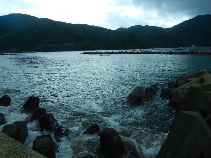 天然の良港が連なる小浜湾
