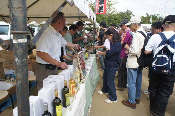 県外からも多くの人が駆けつけるワインイベント!