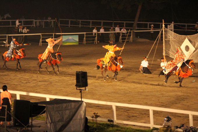乗馬の街で行われる馬術の祭典