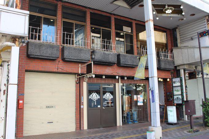 甲府中心街のど真ん中にある地ビール工場とお店