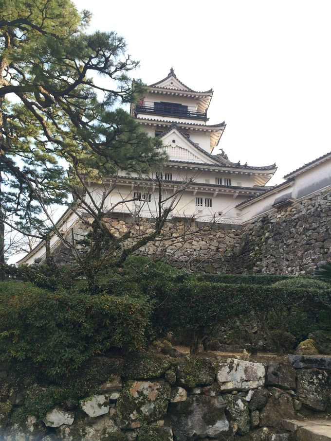 現存天守12城のひとつ、江戸からの歴史を引き継ぐ「高知城」