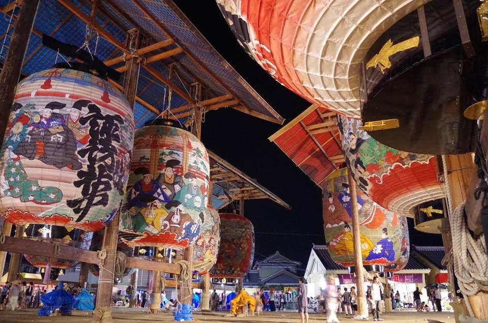 400年以上の歴史を誇る「三河一色大提灯祭り」