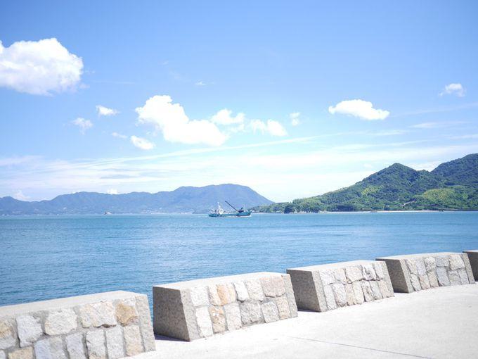 レンタルサイクルで島の美しい風景を堪能!