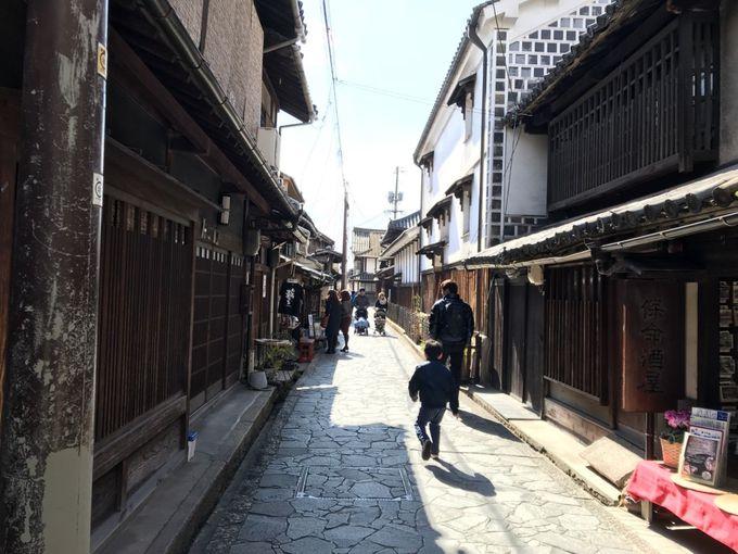 ロケ地としても有名!歴史的建物が続く情緒あふれる街並み