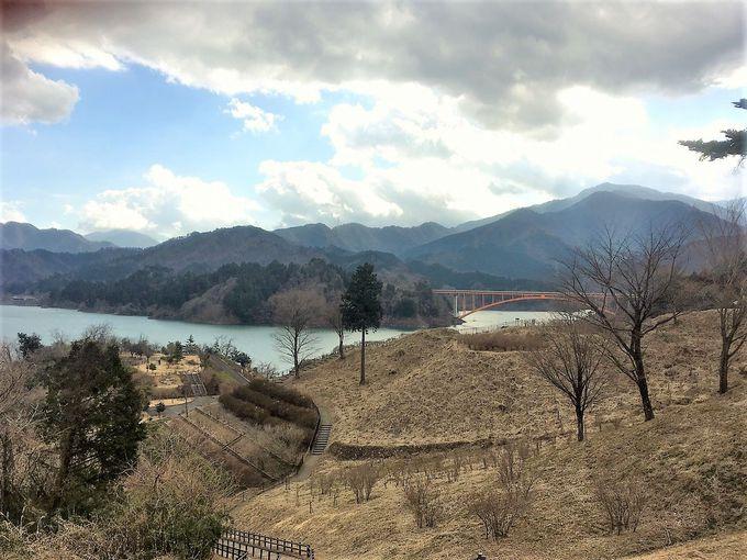宮ヶ瀬湖で随一のビュースポット鳥居原エリア
