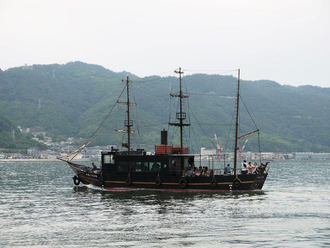 鞆の浦といえば「いろは丸」!展示館には沈没船の残骸も