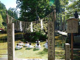 奈良県天川村の洞川の名水!龍泉寺の聖水とごろごろ水♪