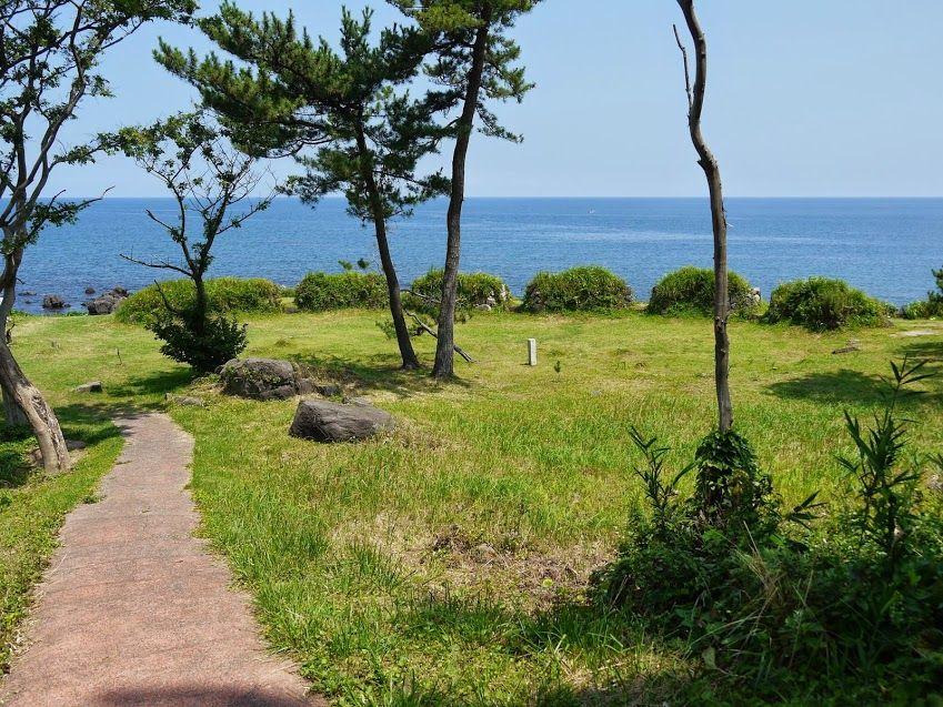 5.丸岡藩砲台跡