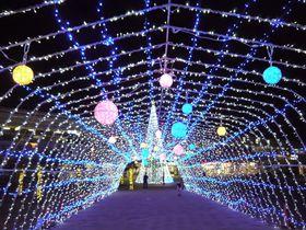 関西で最も穴場なイルミネーション♪天理駅前広場が絶対におすすめ!