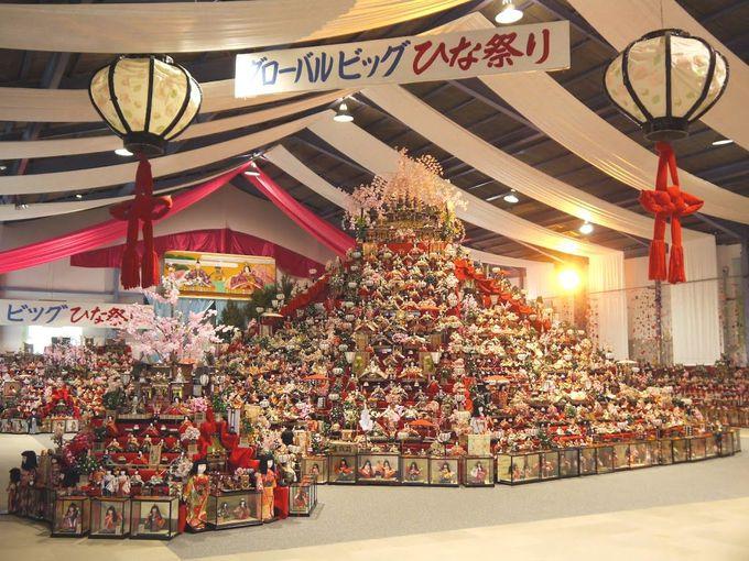 徳島勝浦が元祖!日本一の「ビッグひな祭り」
