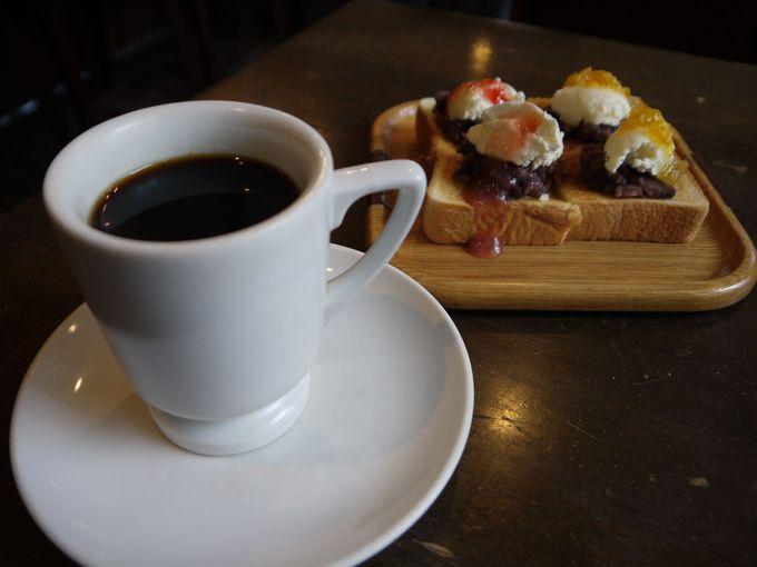 名古屋で初めて自家焙煎珈琲を出した喫茶店としても有名!