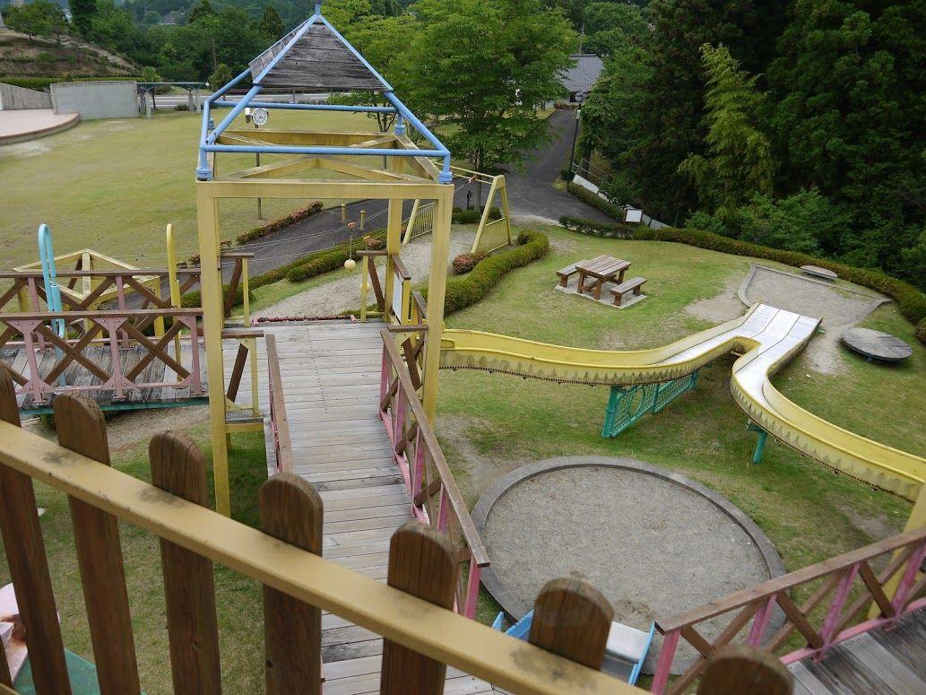 人道の丘公園は子供の遊び場も充実!