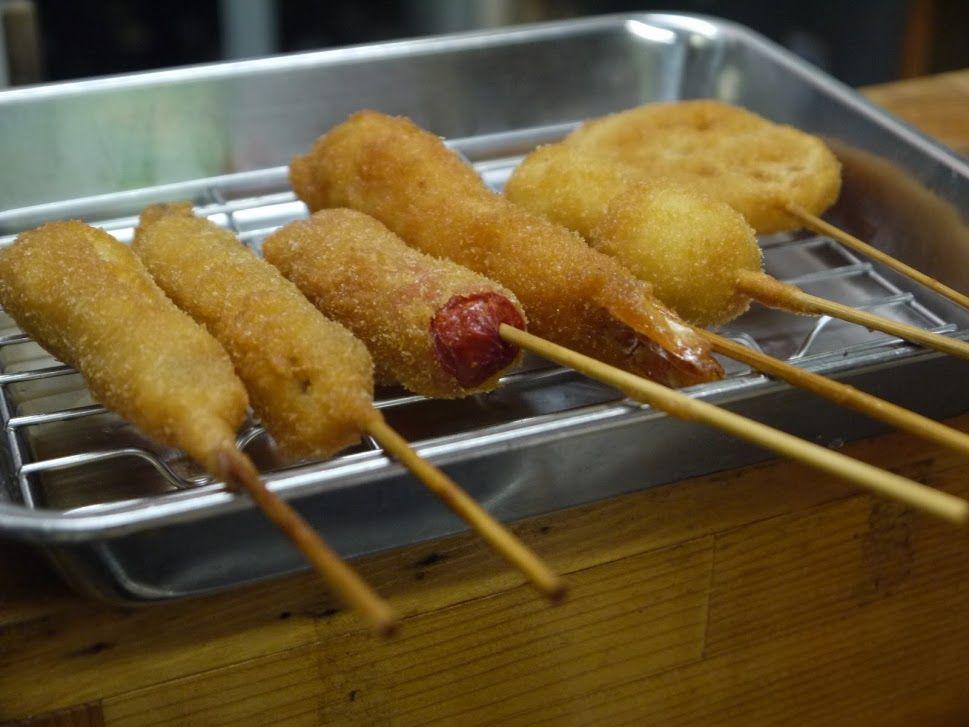 ディープな大阪に浸りながら、本物の串カツを食べよう!
