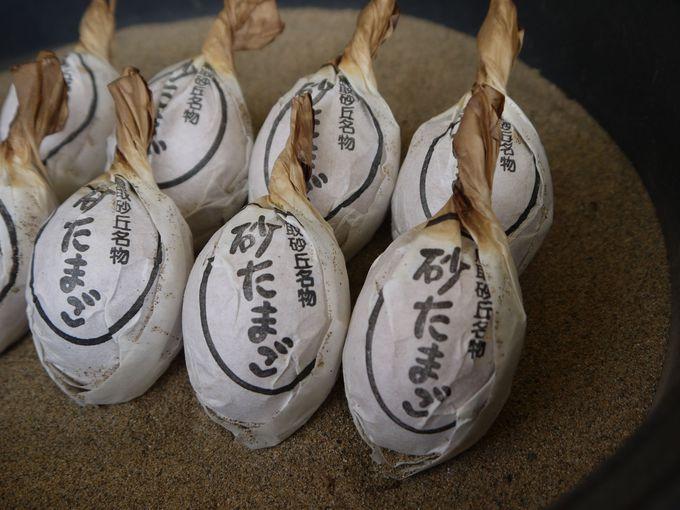 鳥取砂丘に来たら食べるべし!砂たまご
