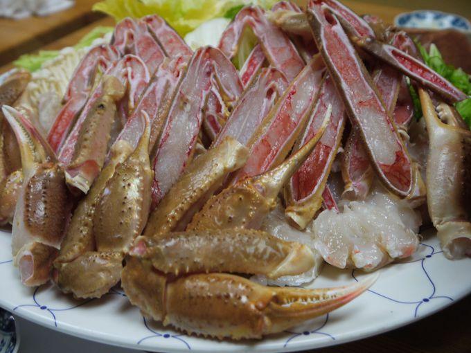 もし冬に鳥取に行くならカニは食べておきたい!