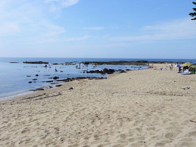 家族で海水浴に行くなら、琴引浜海水浴場は最高です!