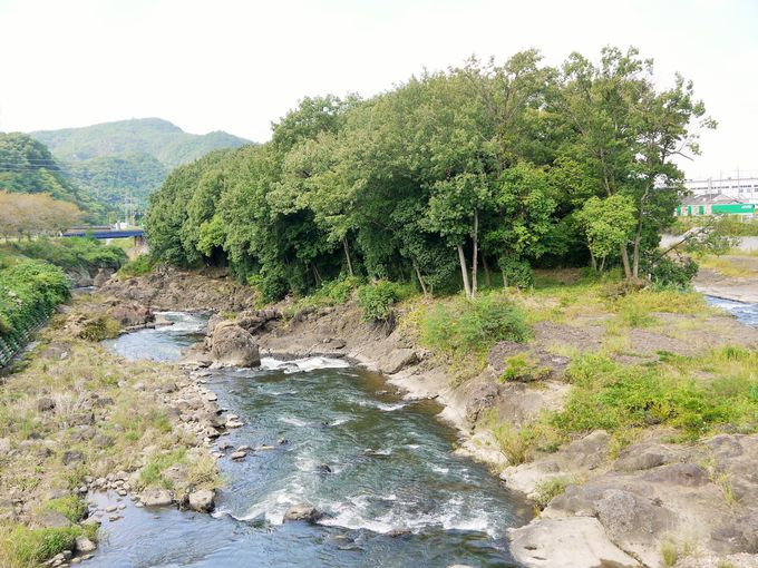 鬼ヶ島は岐阜県可児市の可児川にあるぞ!