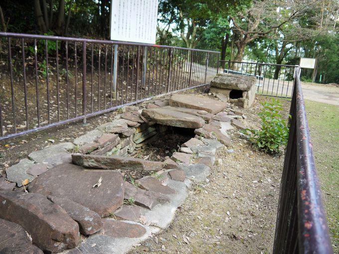 この付近には数多くの古墳も見ることが出来ます