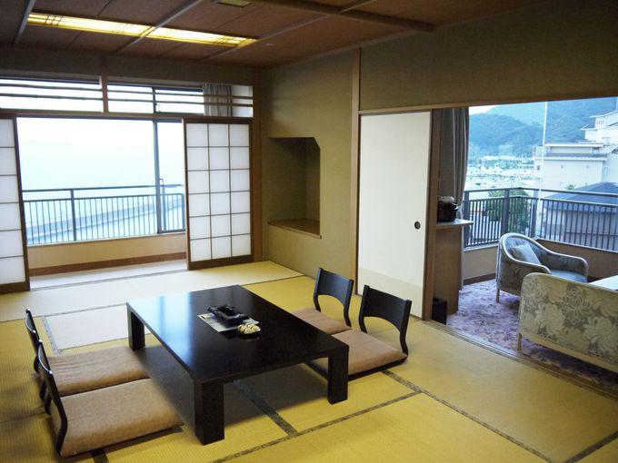 「ホテルニューアワジ 夢大地」は部屋が快適!