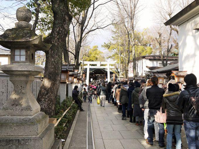 石切劔箭神社へ初詣に行こう!