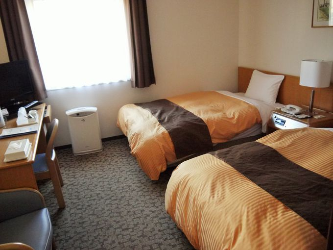 新幹線の停車駅スグ!満足度の高い、コスパ最高のホテル