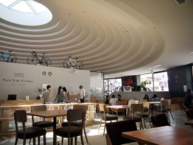 「ラウンジコフン」はカフェレストランや美味しいパンを販売