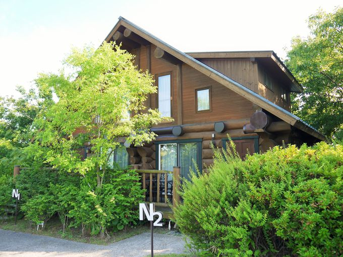 地元の大阪人も泊まりたい!超ステキなログハウス