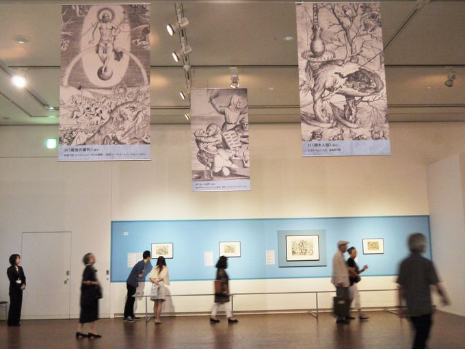 ブリューゲルの代表的な版画作品と奇想天外なモンスター