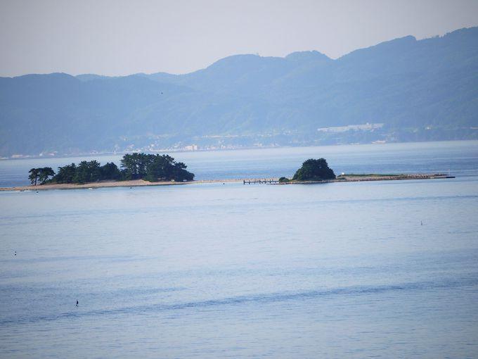 部屋の窓から日本のハワイ「水島」が見えます!