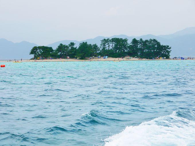 北陸のハワイ「水島」は夏しか行けない無人島