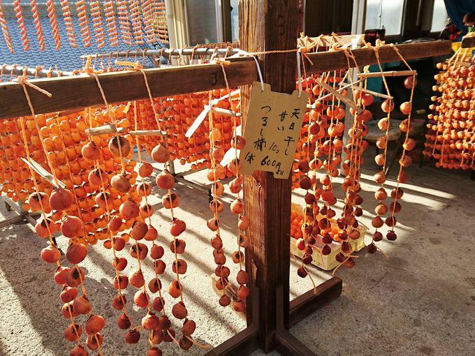 串柿の里で和む!和歌山県の四郷...