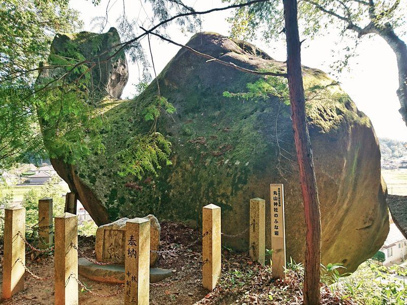ギョギョ!岐阜中津川の「ふな岩」は長さ12mの可愛い巨岩