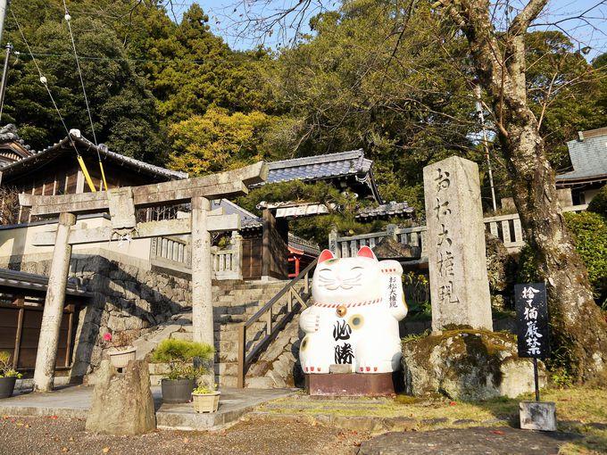 合格祈願の神社として名高い「お松大権現」